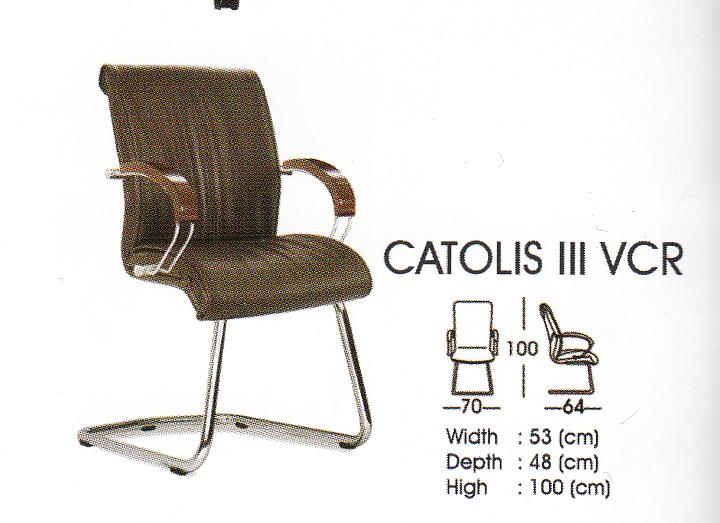 Kursi Hadap - Catolis III VCR