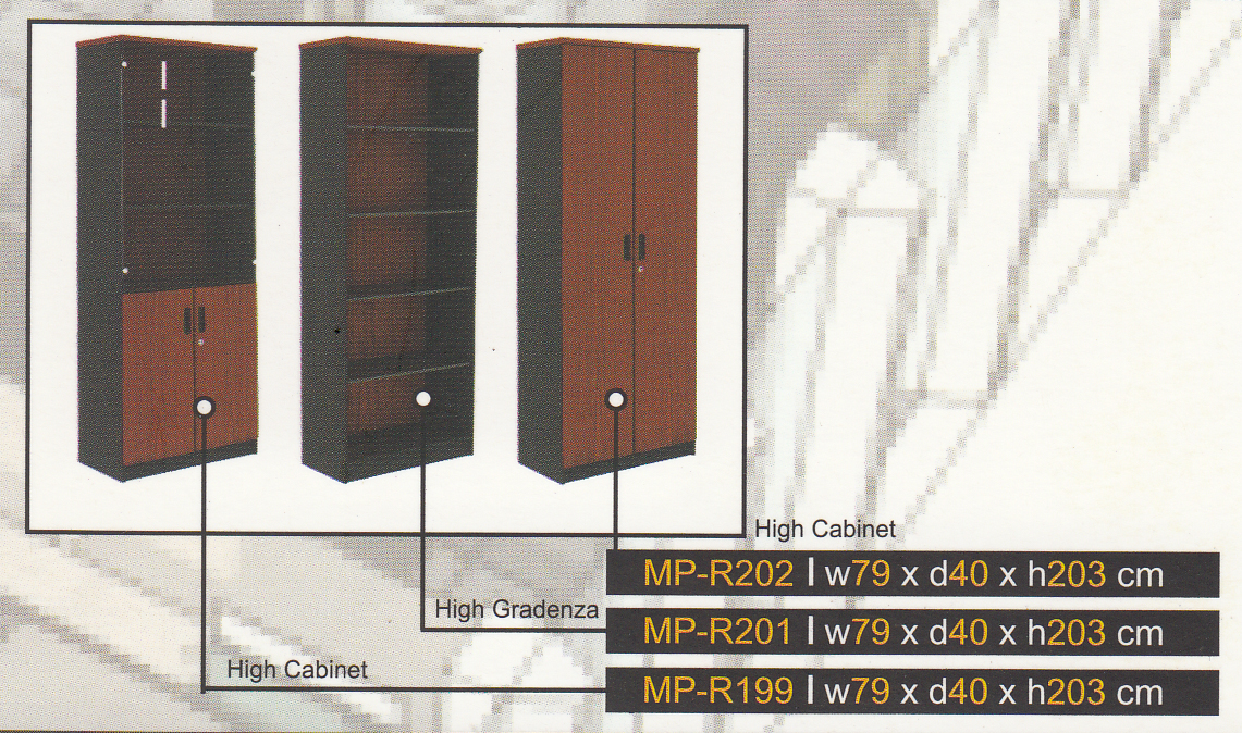 MP-Series - Lemari Arsip Tinggi