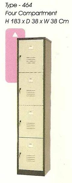 Locker 4 Pintu